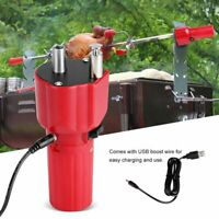 5v Solide Construction Barbecue Gril Rotateur Moteur Barbecue Rôti Support USB