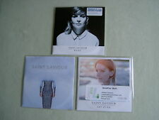 SAINT SAVIOUR job lot of 3 promo CD singles Tightrope Let It Go Bang