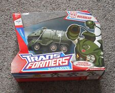 """ BULKHEAD ""  Voyager Class Hasbro Transformers Animated  Mint Sealed"