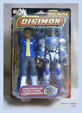 "DIGIMON HYBRID - DIGIVOLVING "" LOBOMON "" MOSC MISB ACTION FIGURE BANDAI NEW 2002"