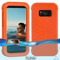 For Samsung Galaxy S8Plus Case Floating Case Waterproof Bag Orange Lifejacket
