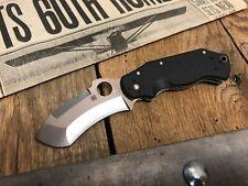 "Spyderco Captain Folding Knife 3-1/16"" VG10 Steel Blade, G10 Handles - SP111GP"