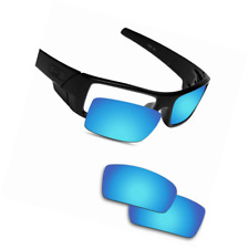 Fiskr Anti-saltwater Polarized Replacement Lenses for Oakley Gascan Sunglasses -