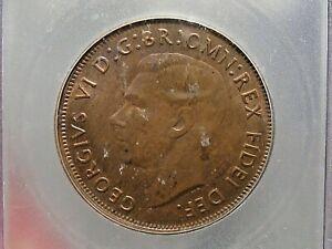 BU 1952 Penny Australia ICG MS64 RB KM#43. #11