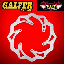 Galfer Front Solid Wave Rotor For 2006-2017 KTM 300 XC DF606W