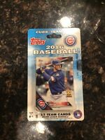 Chicago Cubs 2016 Topps team set World Series Team