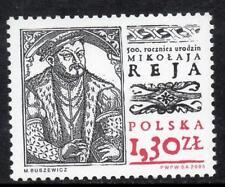 POLAND MNH 2005 SG4172 500th Anniversary of Mikolaj Rej