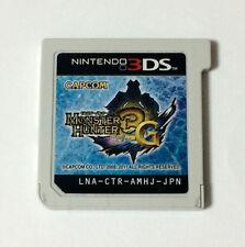 USED Nintendo 3DS Monster Hunter 3G JAPAN Game Soft Only import Japanese MH3G