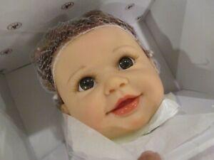"Ashton-Drake Linda Murray EMMA'S TICKLISH TOOTSIES Baby Girl Doll NEW 20"" Vinyl"