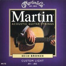 Guitar Strings Acoustic Steel Custom Light - Martin M175