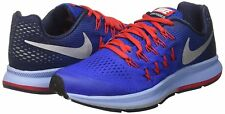 "Nike Zoom Pegasus 33 Mens/Big Kids Blue Running Shoes Size 6 ""NWB"""