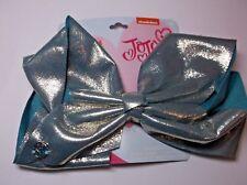 New JoJo Siwa Nickelodeon Signature Large Hair Bow Mint glitter shiny large bow