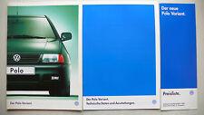 Prospekt Volkswagen VW Polo Variant, 10.1997, 12 S. + Daten/Ausstattungen+Preise