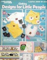 Clothing Designs for Little People Cross Stitch | Leisure Arts 259