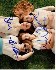 GIRLS Signed CAST Photo LENA DUNHAM ALLISON WILLIAMS JEMIMA KIRKE ZOSIA MAMET