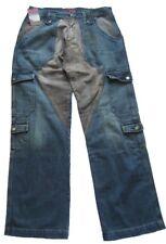 Bray Steve Alan Jeans Uomo Pantaloni Blu-Grigio marrone tg. 32
