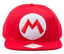 Nintendo Cap Mario Mütze M Super Mario Bros. Original Snapback Schirmmütze Kappe