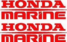 "17"" HONDA MARINE Custom Boat Decal Sticker - PAIR - L@@K"
