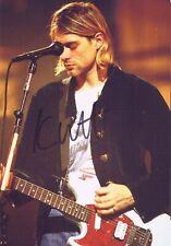 Kurt Cobain ( Nirvana ) autographed 8x10 Photo signed REPRINT