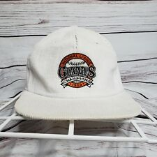 Vintage 1989 San Francisco Giants National League Champion Corduroy Snapback Hat