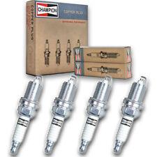4 pc Champion 318 Copper Spark Plugs RC12MC4 - Auto Pre Gapped Ignition qm