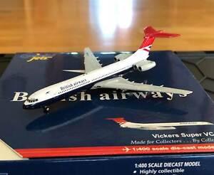 GJBAW658 GeminiJets VC10 1/400 Model G-ASGP British Airways BA