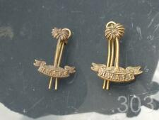 WWII RWAFF Royal West African Frontier Force Collar Badges