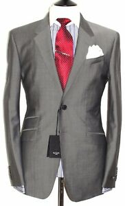 BNWT MENS PAUL SMITH LONDON THE WESTBOURNE NEW EDITION TONICK GRAY SUIT 40R W34