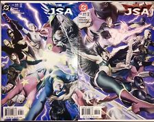 JSA Justice Society of America # 68 & 69 NM (2005, DC Comics) Alex Ross Covers