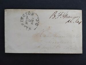 Congressional Free Frank: Granger, Bradley ca. 1861 Cover, 1 Term Michigan Rep