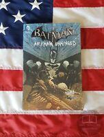 NEW SEALED Batman Arkham Unhinged #4 DC Comics Traviss Hardback Hardcover