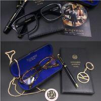 Movie Kingsman 2: The Golden Circle Eggsy Brooch Glasses Eyeglasses Sunglasses