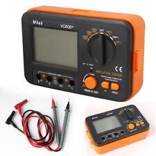 VC60B+ Digital Insulation Resistance Tester Megohmmeter Ohmmeter Voltmeter UK