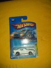 HOT WHEELS REALISTIX 5 2005 FIRST EDITIONS 1969 PONTIAC FIREBIRD WHITE WITH BLUE