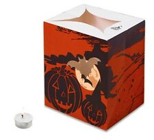 CANDLE BAGS RED HALLOWEEN GATHERING - 5 Pack