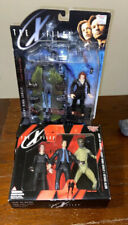 1998 X-Files Toy Lot Agent Scully MOC Figure Set McFarlane Mulder ATTACK Alien