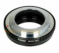 Contax RF (Outer Bayonet) lens to Sony E-mount a7 a7R a7S II III IV a9 Adapter