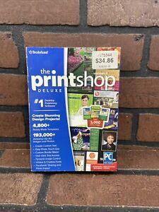 The Printshop Deluxe Version 4 Windows Design & Photo Editing Broderbund