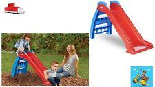 First Slide (Red/Blue) - Indoor / Outdoor Toddler Toy