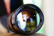 Yashica Yashinon DX 200mm f4 Telephoto Manual Prime Lens.  Pentax M42 screw fit