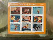 Disney Peter and the Wolf - The Hunt Begins Stamp Sheet