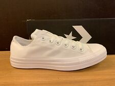CONVERSE ALL STAR WHITE MONOCHROME n.43 NUOVE 100% ORIGINALI !!!