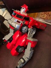 Tonka Transformers Fire Truck Figurine Toy