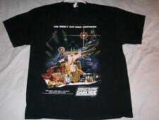 The Family Guy Saga Something Darkside STAR WARS Black T-shirt Mens Large used