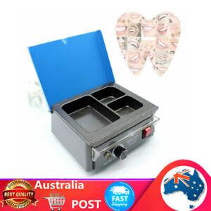 Dental 3 Well Electric Wax Heater Melting Dipping Pot Paraffin Warmer Machine