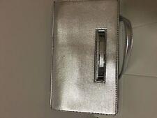 brandnew nine west clutch, $40 silver color, fashion