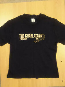 The Charlatans, Forever, skinny T-shirt (Size XS)