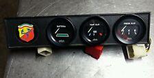 strumentazione originale 112 abarth batteria temperatura olio pressione olio