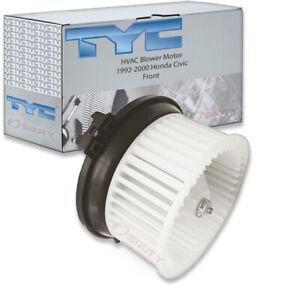 TYC Front HVAC Blower Motor for 1992-2000 Honda Civic Heating Air ae