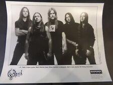 Opeth Press Photo 8X10 1990's Promo